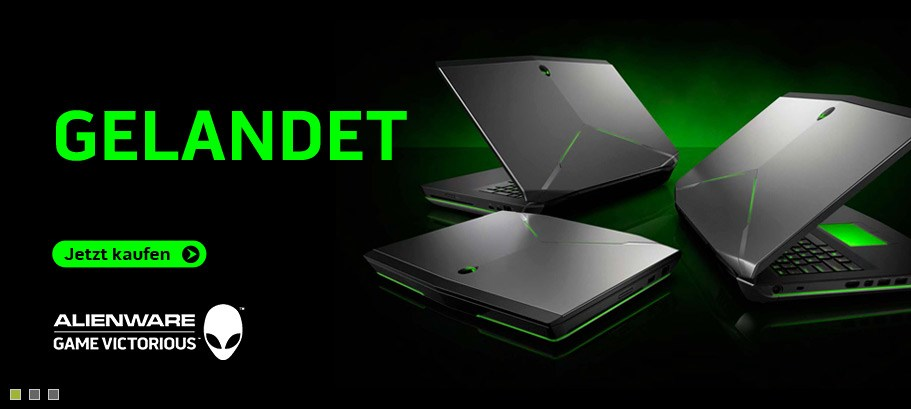 Neu Alienware Notebook