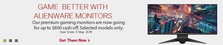 Alienware monitor deals