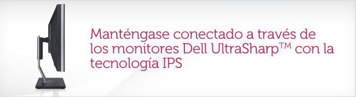 Permanezca conectado con los monitores Dell UltraSharp