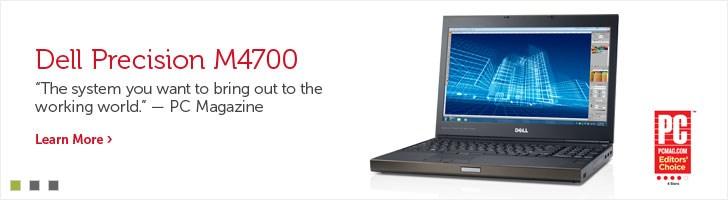 Dell Precision M4700 Workstations