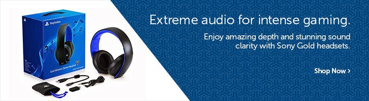 Extreme audio for intense gaming.