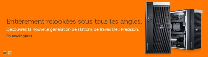 Stations de travail Dell Precision T3600, T5600, T7600