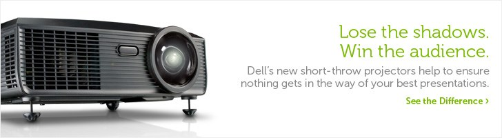 Dell new short-throw projectors
