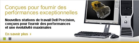 Stations de travail de type tour Dell Precision