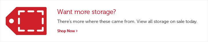 Want more storage.