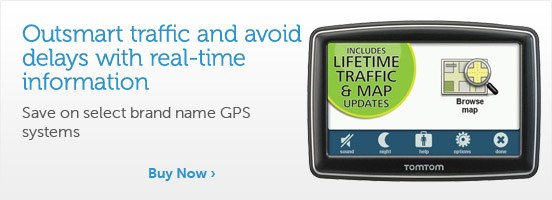 Outsmart traffic and avoid delays with real time information!