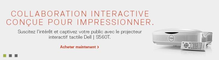 Projecteur tactile interactif Dell | S560T