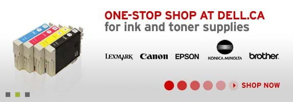 Printer, Ink & Toner - One-Stop shop at dell.ca for ink and toner supplies