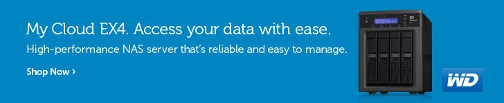 My Cloud EX4. Access you data with ease.