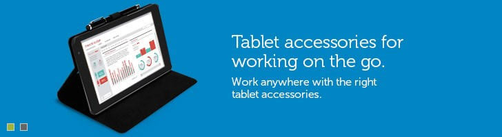 Tablet accessories for working on-the-go.