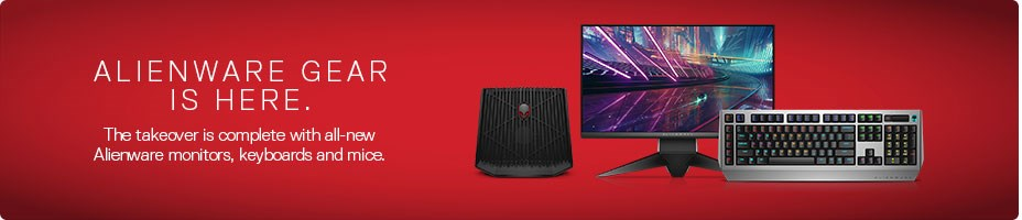 Alienware Gear Is Here