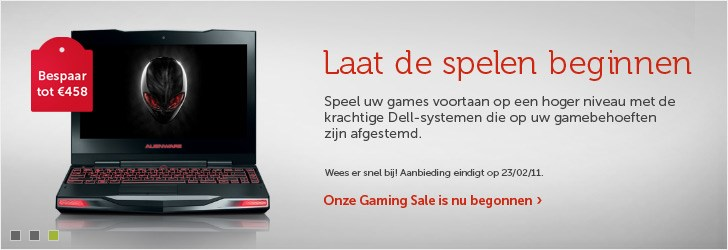Deals voor gamecomputers
