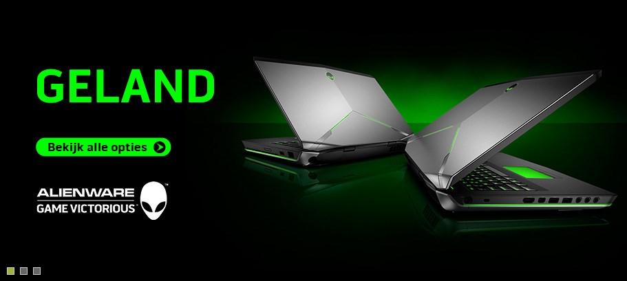Nieuwe Alienware laptops