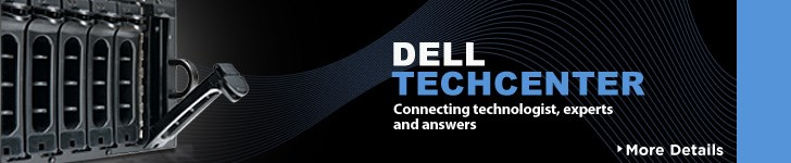 Dell TechCenter - Connecting Technologists, Experts, and Answers