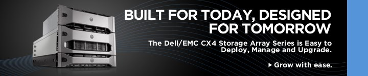 Dell/EMC CX4 Storage Array Series