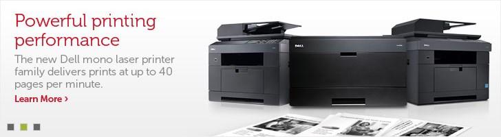 Powerful printing performance