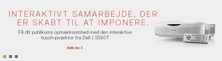 Dell interaktiv touch-projektor | S560T