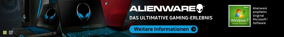 Alienware empfiehlt Original Microsoft Software