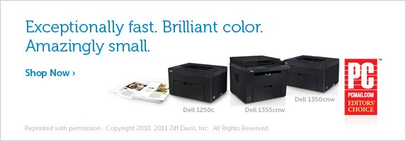 Exceptionally fast. Brilliant color. Amazingly small.