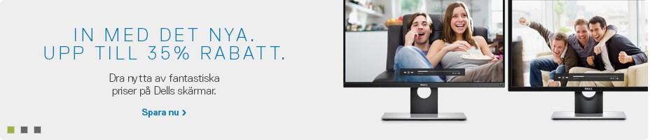 Erbjudanden på skärmar
