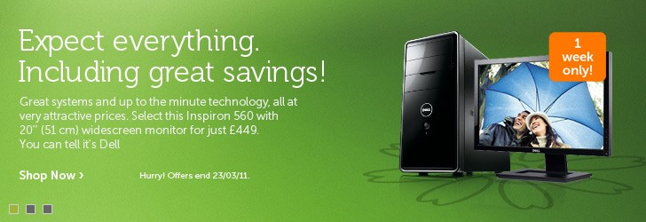 Special Offers from Dell