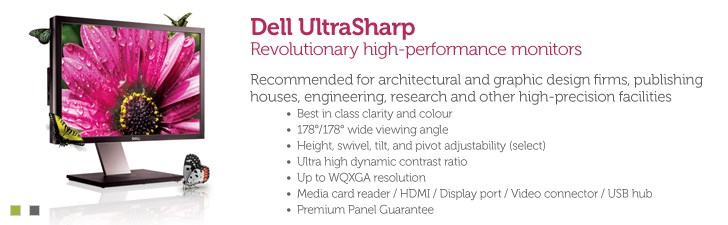 Dell Ultrasharp Monitors