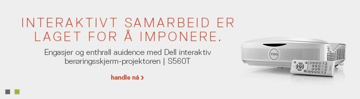 Dell interaktiv berøringsprojektor | S560T