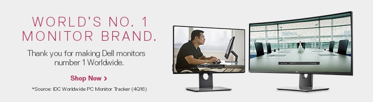 World's No.1 Monitor Brand