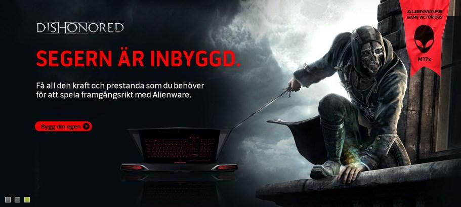 Alienware erbjudande