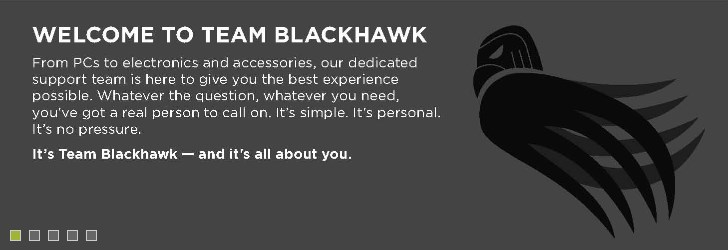 Welcome to Team Blackhawk.