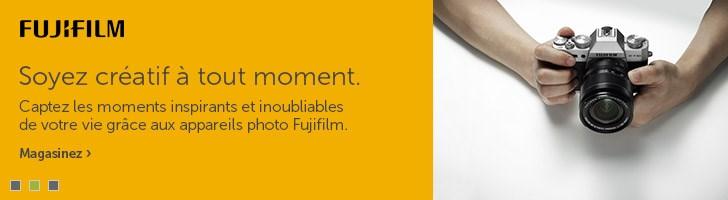 Les appareils photo Fuji
