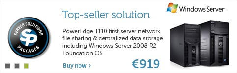 Dell PowerEdge T110 First Server Solution