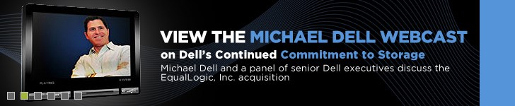 Join Michael Dell on Equallogic Acquisition