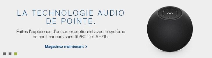 Haut-parleurs sans fil Dell AE715