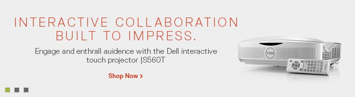 Dell Interactive Touch Projector | S560T