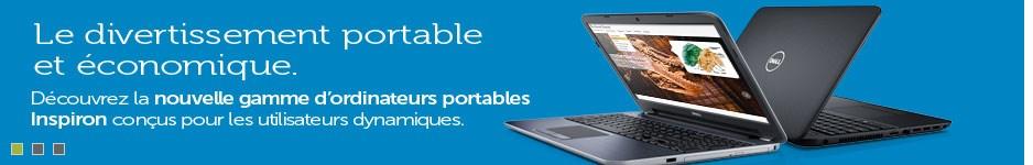 nouvelle gamme d'ordinateurs portables Inspiron