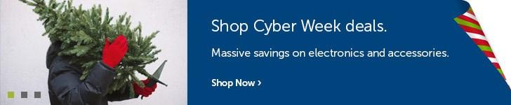 Cyber Week - Electronics