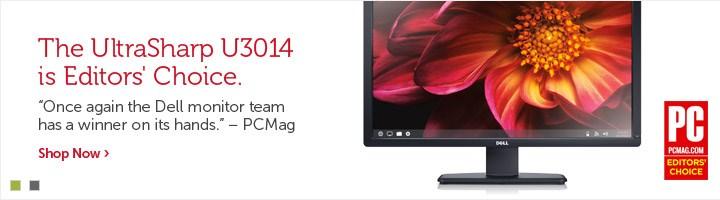 U3014 Monitor PCMag Editors' Choice Award
