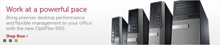 Dell OptiPlex FX130 & FX170 Desktop Computer