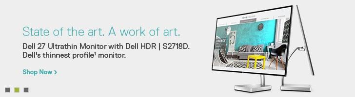 >Dell 27 Monitor: S2718D