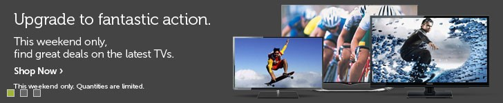Weekend TV Sale