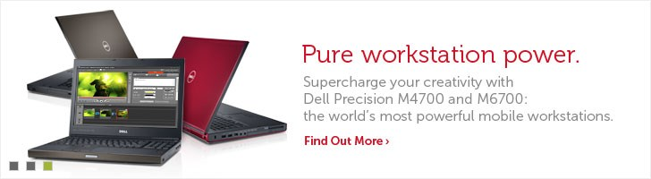 Dell Precision M4700 and M6700 Mobile Workstations