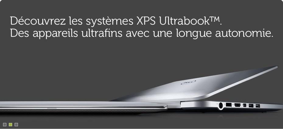 Decouvrez les systemes XPS Ultrabook