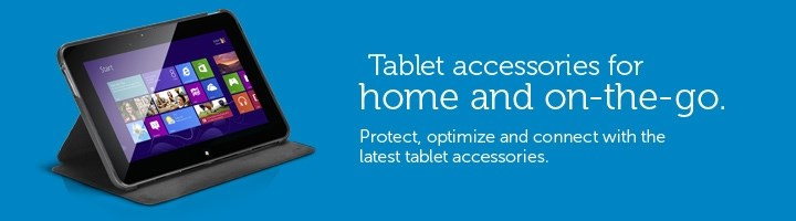 Tablet accessories for home and on-the-go.