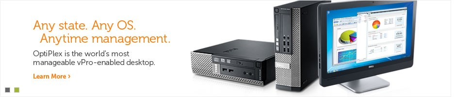 Empower your work with Dell Optiplex