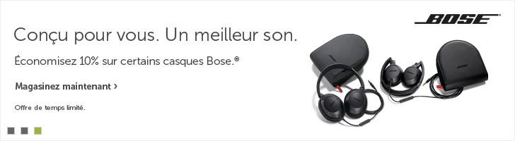 Casques d'écoute Bose