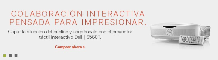 Proyector táctil interactivo Dell | S560T