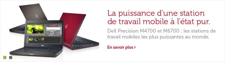 Stations de travail Dell PrecisionM4700 etM6700