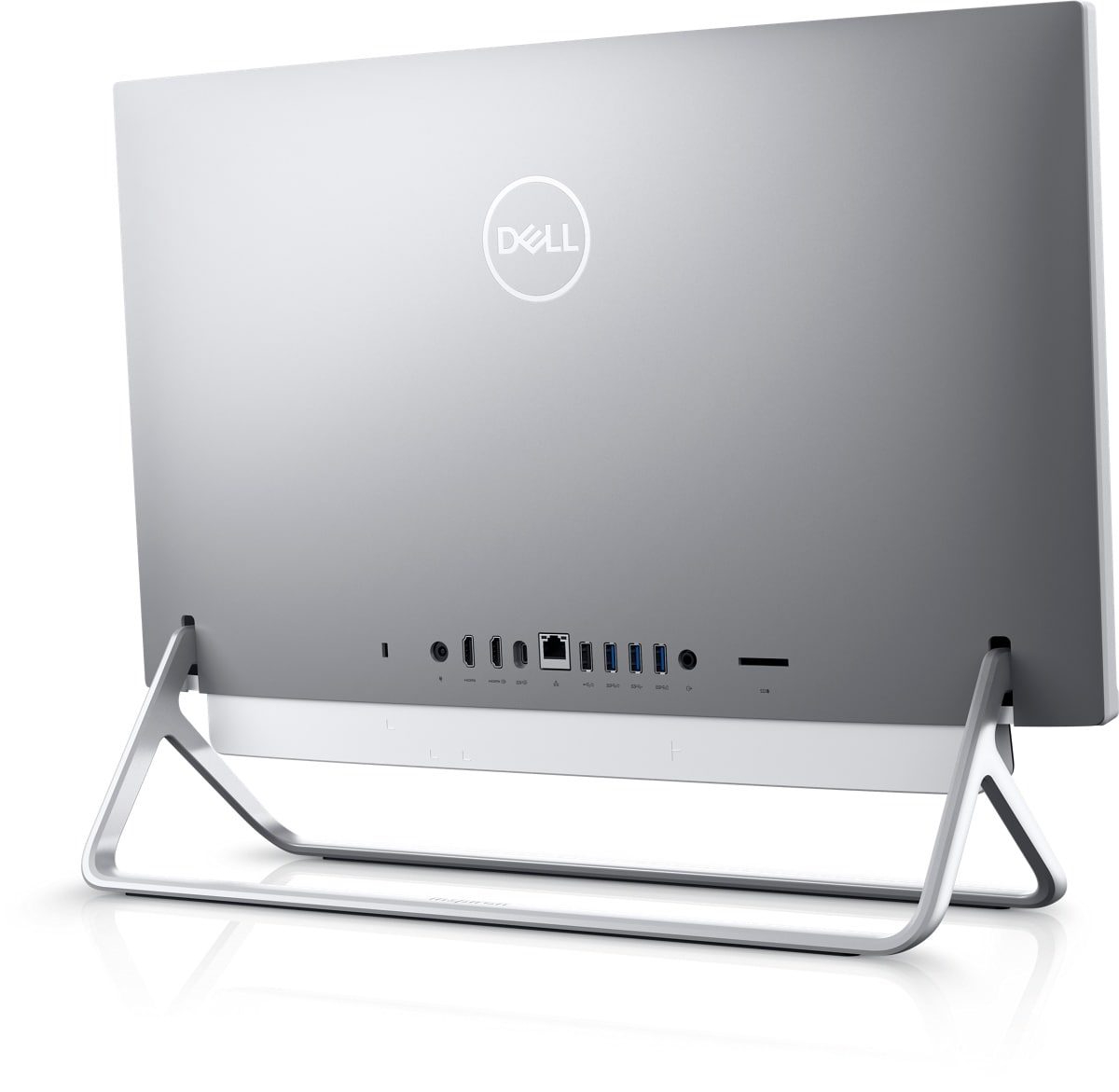 New Inspiron 24 5000 Silver Touch All-In-One with Arch Stand   Dell