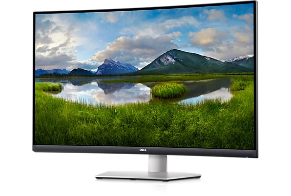 Dell Refurbished 32 inch Ultra HD 4K Curved Monitor - S3221QS